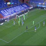 Sampdoria 2-0 Lazio - Tommaso Augello 41'
