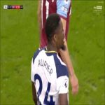 Aurier 93' foul on Snodgrass