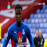 Crystal Palace 1-0 Brighton & Hove Albion - Wilfried Zaha pen. 19'