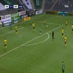 Hammarby IF [1]-0 Mjällby AIF - Gustav Ludwigson 3'