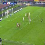 Roma [1]-1 Benevento - Pedro 31'