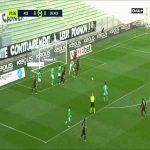 Saint-Etienne 0 - [1] Nice - Lees-Melou 8'