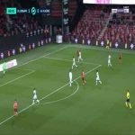Guingamp 2-0 Auxerre - Jeremy Livolant 81'