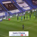 Coventry 1-0 Swansea - Jordan Shipley 19'