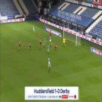 Huddersfield 1-0 Derby - Juninho Bacuna 53'