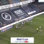 Millwall 1-0 Luton - Martin Cranie OG 45'+3'