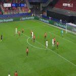 Rennes 1-[1] Krasnodar - Cristian Ramirez 59'