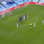 Manchester City [2]-1 FC Porto - Ilkay Gundogan free-kick 65'