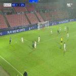 Midtjylland 0-3 Atalanta - Luis Muriel 42'