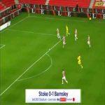 Stoke 0-1 Barnsley - Elliot Simoes 18'