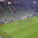 Ludogorets 1-[1] Antwerp - Pieter Gerkens 63'