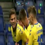 Brøndby 1-0 FC Midtjylland - Andreas Bruus 16'
