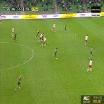 Krasnodar [1]-2 Spartak Moscow - Jacob Sabua 59'