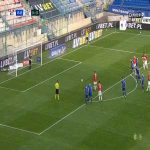 Wisła Kraków 1-0 Podbeskidzie Bielsko-Biała - Jean Carlos Silva PK 35' (Polish Ekstraklasa)