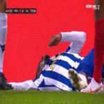 Zaidu Sanusi (FC Porto) second yellow card against Gil Vicente 74'