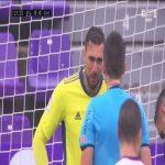 Lucas Pérez (Deportivo Alavés) PK miss vs. Real Valladolid (22')