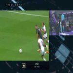 Nacho Martinez straight red card vs Alaves 21'