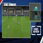 VAR determines red card for Gonzalez (LAFC vs Galaxy)