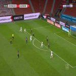Bayer Leverkusen 1-[1] Augsburg - Daniel Caligiuri 52'
