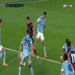Levante 1-0 Celta Vigo - Roger Marti penalty 47'