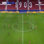 Atlético Madrid 1-0 RB Salzburg - Marcos Llorente 29'