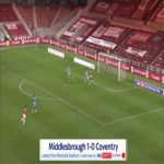 Middlesbrough 1-0 Coventry - Britt Assombalonga 81'