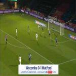 Wycombe 0-1 Watford - Ismaila Sarr 52'