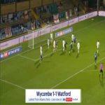Wycombe [1]-1 Watford - Anthony Stewart 66'