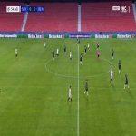 Sevilla 1-0 Rennes - Luuk de Jong 56'