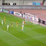 AEK Athens 0-1 Leicester - Jamie Vardy PK 18'