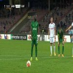 LASK 4-[3] Ludogorets Razgrad - Elvis Manu PK 73' hat-trick