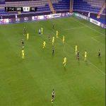 Qarabağ 1-0 Villarreal - Owusu Kwabena 78'
