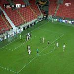 Slavia Praha 1-0 Bayer Leverkusen - Peter Olayinka 80'