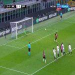 Zlatan Ibrahimović (Milan) PK miss vs. Sparta Praha (36')