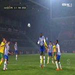 Paços Ferreira [3]-1 FC Porto - Bruno Costa penalty 59'