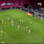 AFC Ajax 0-[1] Fortuna Sittard - George Cox 7'
