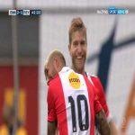 FC Emmen [2]-1 Feyenoord - Michael de Leeuw 42' great goal