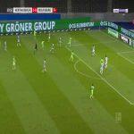 Hertha Berlin 1-[1] Wolfsburg - Ridle Baku 20'
