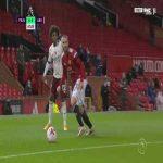 Manchester United 0 - [1] Arsenal - Aubameyang penalty 69' + call