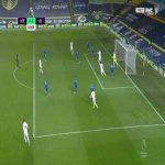 Leeds 0 - [1] Leicester - Harvey Barnes 3'