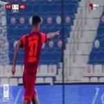 Al Kharitiyath 1-(2) Umm Salal - Ilyes Brimil nice long shot goal