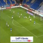 Cardiff 1-0 Barnsley - Junior Hoilett 4'