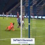 Sheffield Wednesday 1-0 Bournemouth - Barry Bannan penalty 69'