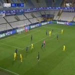 Club Brugge 0-3 Dortmund - Erling Haaland 32'