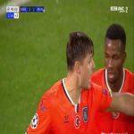 Epureanu (Basaksehir) goal line clearance against Manchester United 90+2'