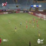 Hanoi FC (2)-1 Saigon FC - Nguyen Quang Hai nice volley goal