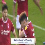 Nottingham Forest 1-0 Coventry - Scott McKenna 30'