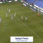 Reading 0-1 Preston - Scott Sinclair 65'