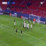 Sevilla 0-1 Krasnodar - Magomed-Shapi Suleymanov free-kick 17'
