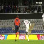 Tuanzebe yellow card against Basaksehir